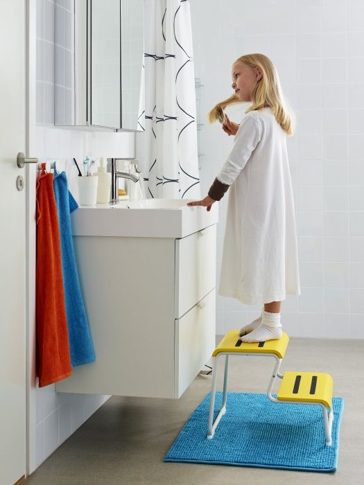 Superb A Step Stool, Like GLOTTEN, In The Bathroom, Helps Morning And Bedtime  Routines Part 32