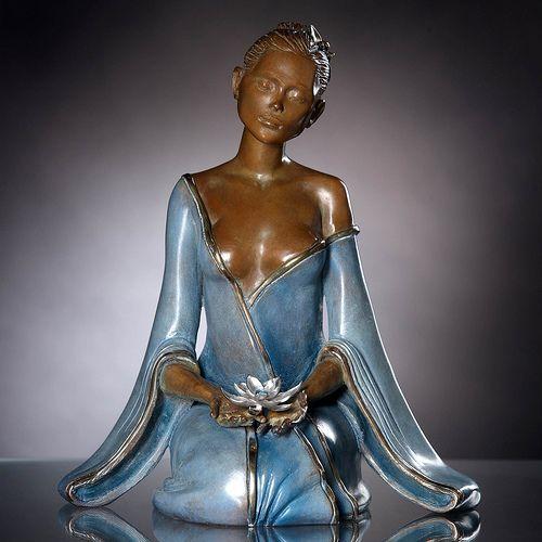 Le parfum du Lotus (c) Deville-Chabrolle Sculptures 2012…