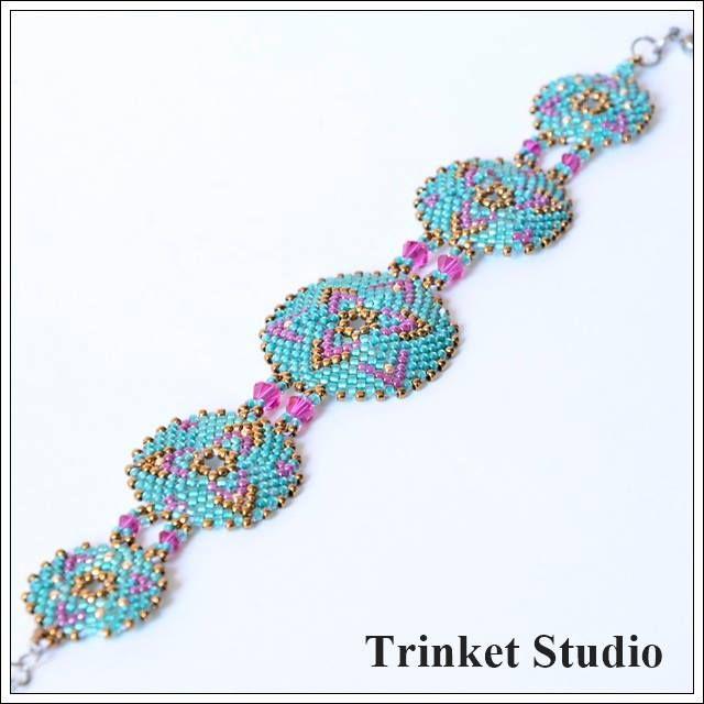 #Miranda #Earrings, #necklace, #bracelet #TrinketStudio, #Beading, #Swarovski…