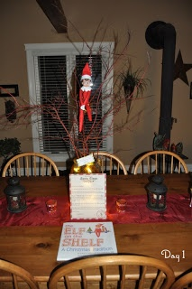 Our Elf Rex: Day 1 - Our Elf has arrived!