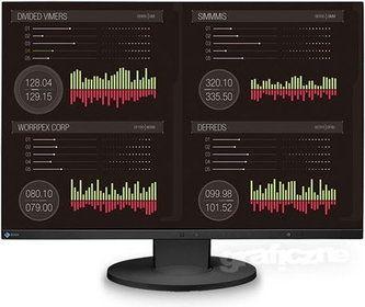 Monitor dla programisty musi przede wszystkim nie męczyć wzroku osoby, która będzie przy nim pracowała. Programista powinien mieć do dyspozycji dużą przestrzeń roboczą, w związku z tym dobrym wyborem będzie zakup urządzenia o przekątnej 24 – 27 cali. Jeśli wybierzemy model panoramiczny, pozwoli to nam na swobodne korzystanie z bocznych paneli znajdujących się w edytorach.