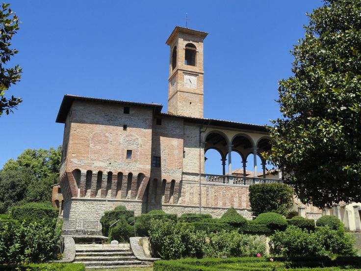 Castello Bufalini, San Giustino, Umbria, Italy