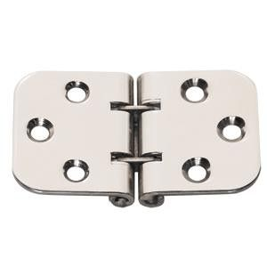 Whitecap Flush Mount 2-Pin Hinge - 304 Stainless Steel - 2-13-16 x 1-9-16