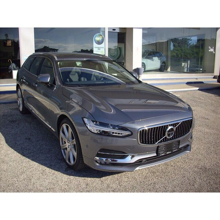 "VOLVO WORLDS (@volvoworlds) on Instagram: ""Cool New Volvo V90 Osmium Grey. Another beautiful ..."