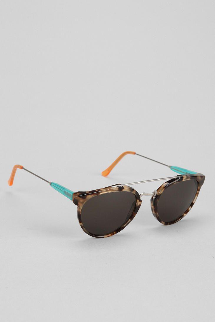 SUPER Giaguaro Round Sunglasses