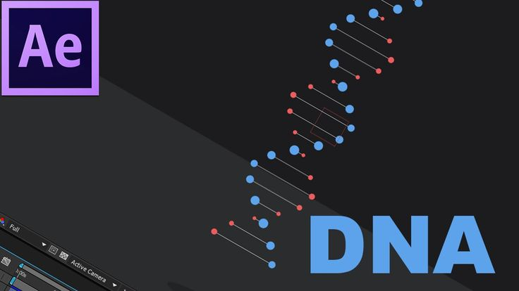 30. After Effects: DNA Dupla Hélice Giratório