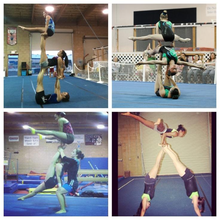 Acrobatic Gymnastics Emily Emily B. Ally Toni Morgan