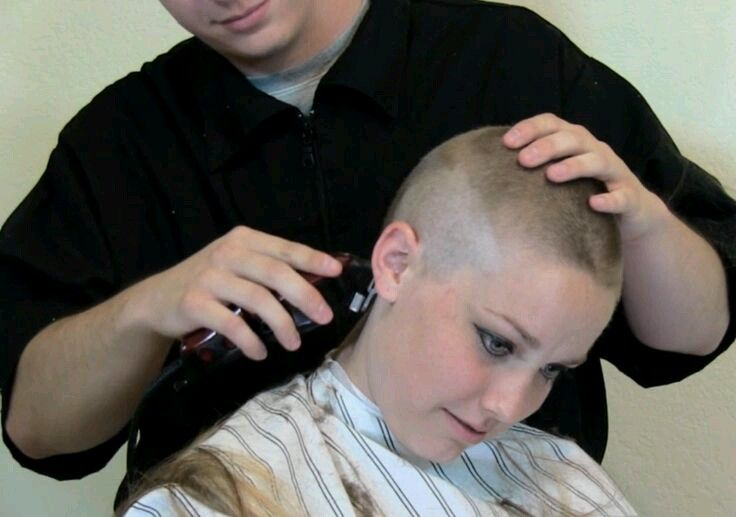 Pin Auf Head Shave And Buzz Cuts