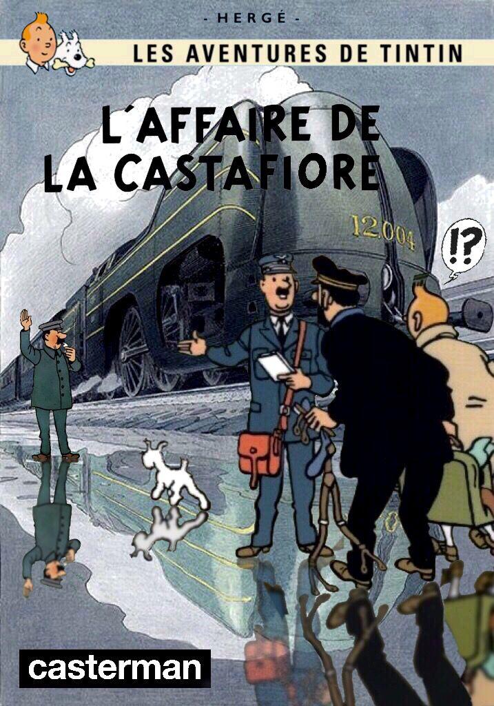 Les Aventures de Tintin - Album Imaginaire - L'Affaire de la Castafiore