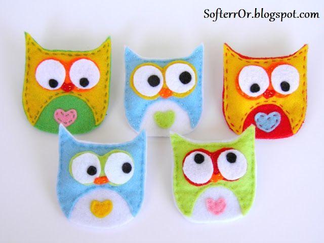 SofterrOr - Χειροποίητες Κατασκευές: Κουκουβάγιες