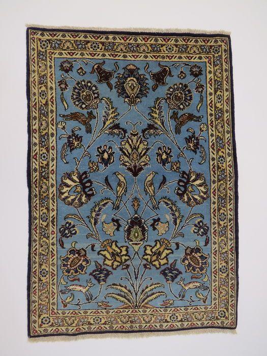 Prachtig mooi Perzisch tapijt Qom Iran 120 x 81cm einde van de 20e eeuw. Grote voorwaarde - fijn met zijde inhoud  EUR 305.00  Meer informatie