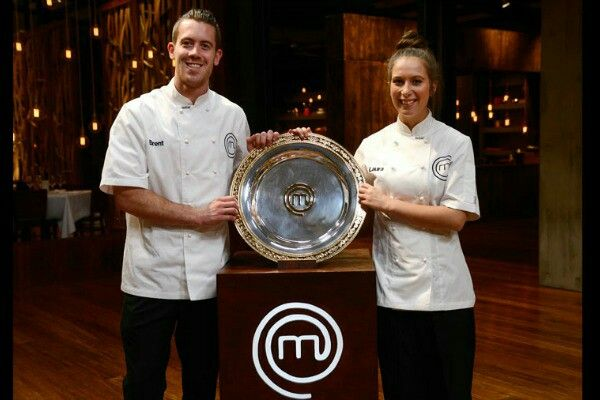 Brent & Laura; Masterchef Australia 2014! I love how much they supported each other! too cute! :D