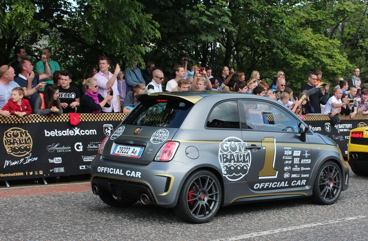 Fiat Abarth | Gumball 3000 Rally 2014 in Edinburgh