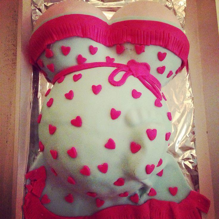 Baby shower taart!! ❤️ heerlijk en mooi!