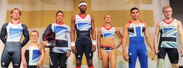 The Team GB Olympic 2012 kit, designed by Stella McCartney.