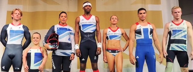 The Team GB Olympic 2012 kit, designed by Stella McCartney.