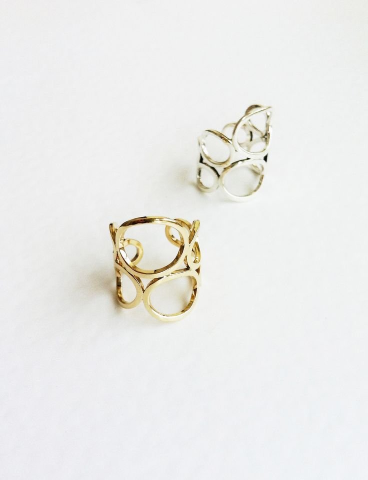 Gold Fold Ring - 14k Recycled Gold