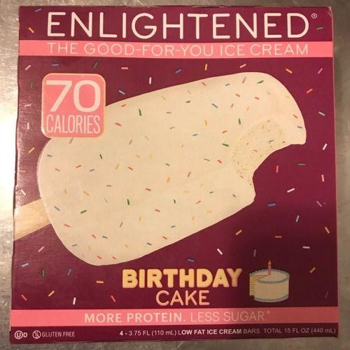 ENLIGHTENED ICE CREAM BIRTHDAY CAKE BARS Ice Cream Birthday Cake Cakes Enlightened