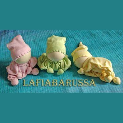 Bambole waldorf di stoffa - waldorf dolls : come fare i capelli per bambola