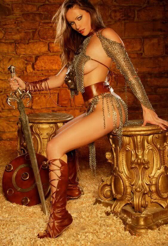 Halloween new medieval viking antique sexy alumnium