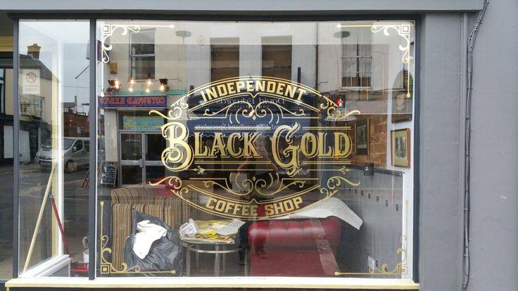 Designed for coffee shop on Cheltenham