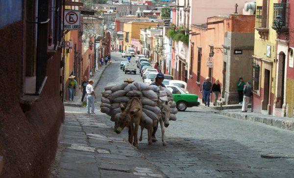 San Miguel de Allende mexico | Street Scene San Miguel de Allende, Mexico