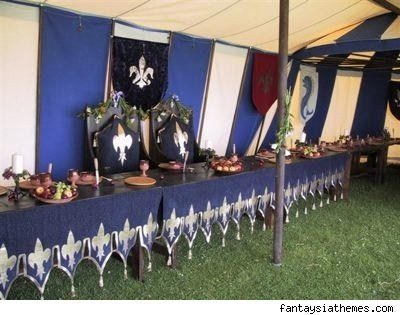 8 best rennaisanxe decorations images on pinterest medieval more medieval feast ideas junglespirit Gallery