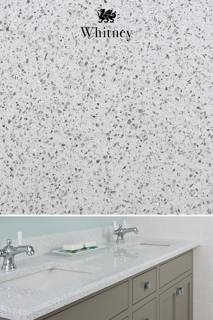 Our Whitney Design Gleams With Bright White And Sparkles