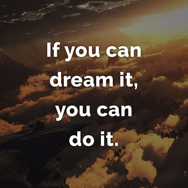 Be a dreamer, and keep on dreaming! #saver6 #motivation #entrepreneur