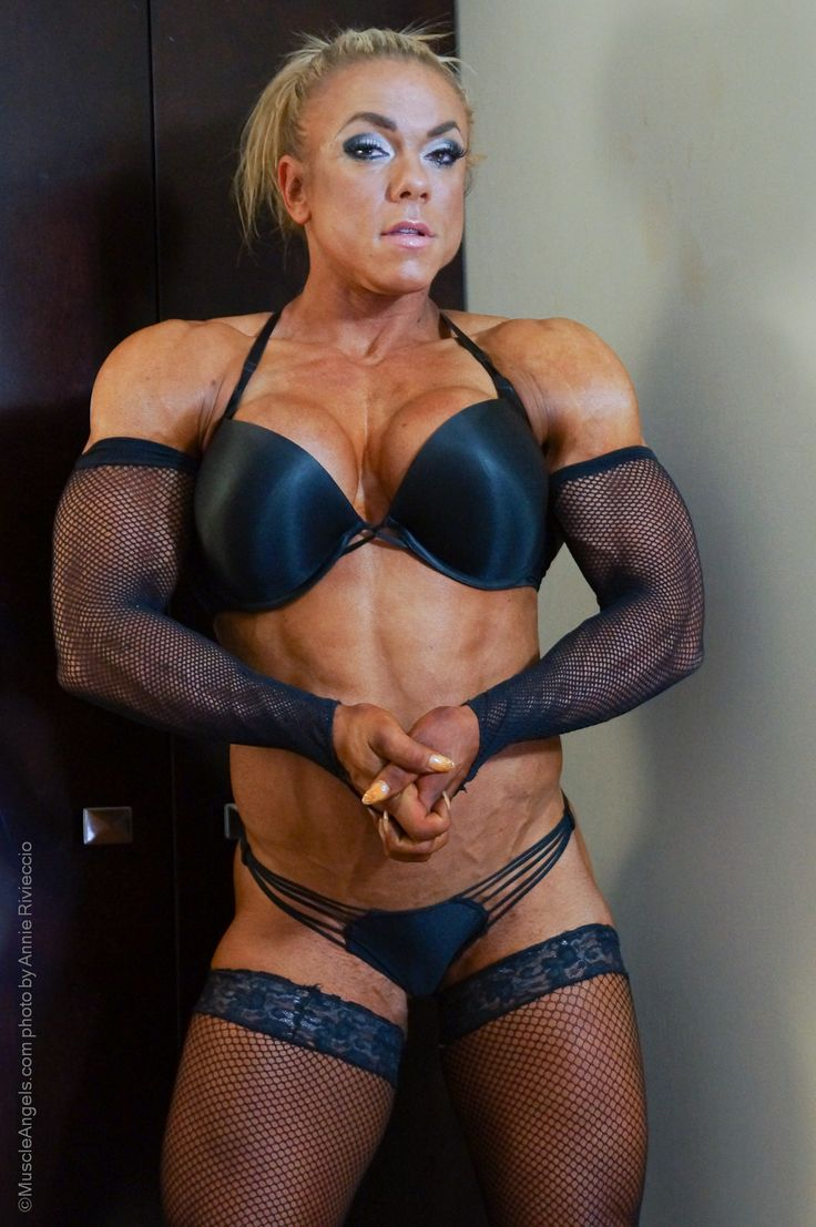 Hot muscle female