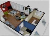 logiciel decoration gratuit pour projet aménagement intérieur maison, meubles, sol, revêtement mur et couleur peinture