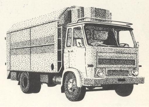 Star BS-4SE Kühlfahrzeug