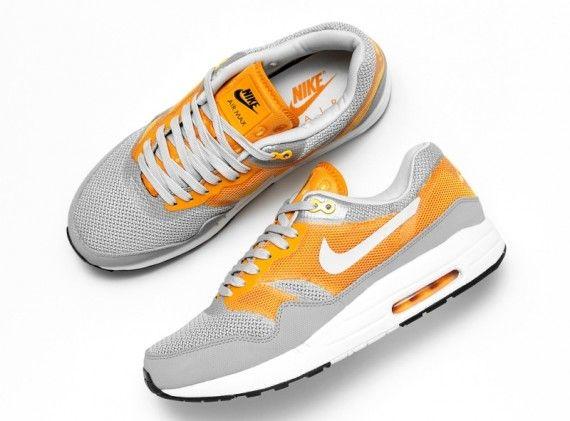Nike Air Max 1 C2.0   Wolf Grey/Pure Platinum/Kumquat/   Atomic Orange