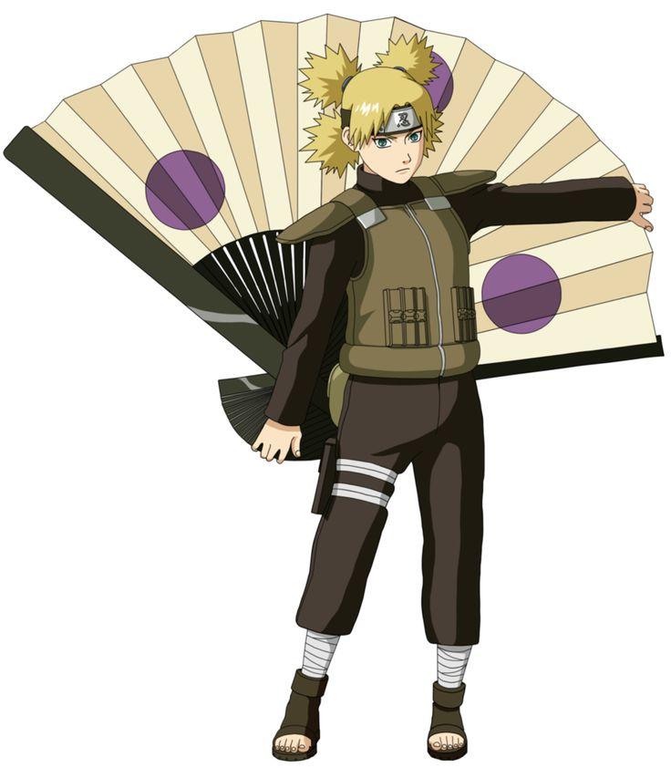 Naruto shippuden temari character
