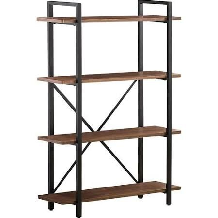 Coaster 800336 Contemporary Light Brown Industrial Bookcase
