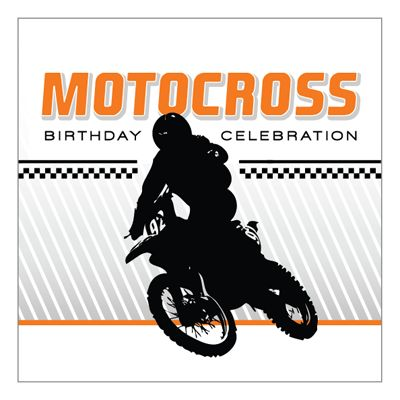 Motorcycle Birthday Party Printables