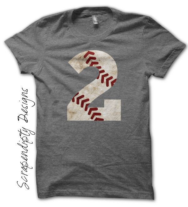 Baseball Number Iron on Transfer  Iron on by ScrapendipityDesigns, $2.50
