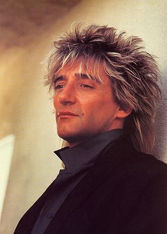 Rod Stewart - never understood the physical attraction my mom had to him but I love his music :-)THE ATTRACTION ISSSSSSSSSS OBVIOUS LOL