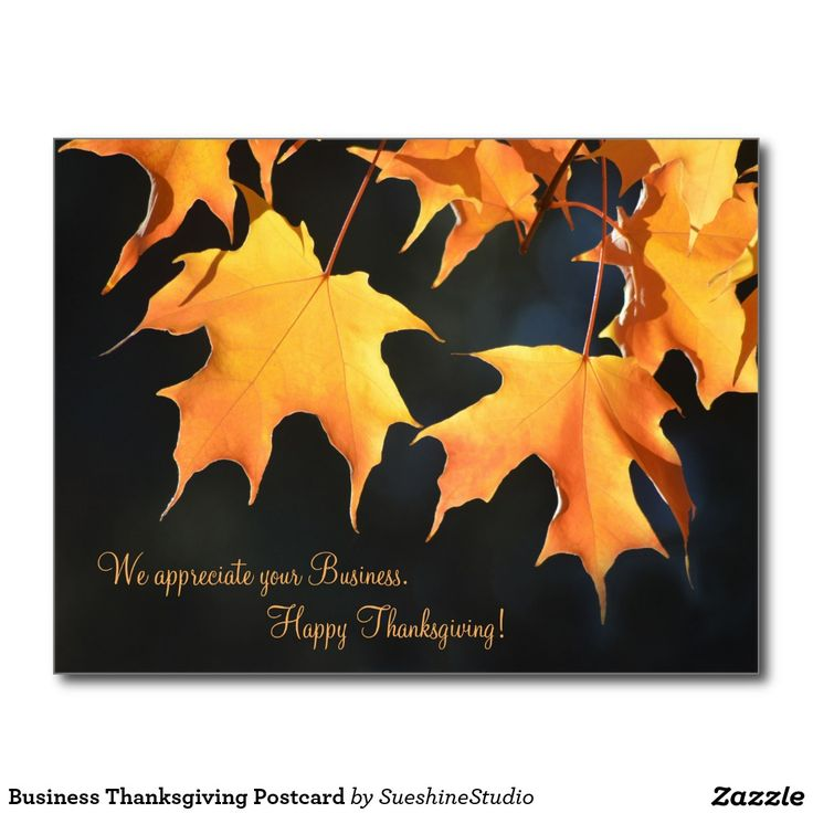 31 best businesscorporate thanksgiving cards and postcards images business thanksgiving greeting card see more business thanksgiving postcard m4hsunfo Gallery
