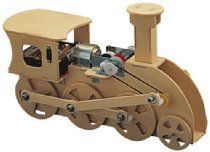 Trainmech Wooden Kit