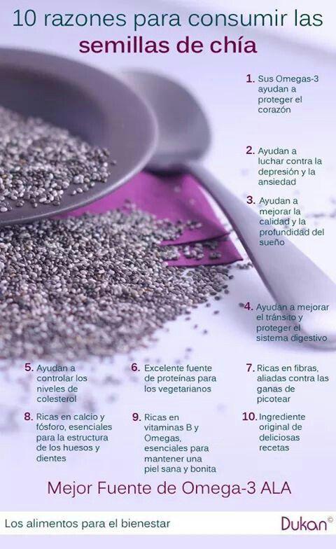 Las semillas de Chía son un súper alimento, inclúyelas en tu dieta y benefícite al máximo de sus propiedades