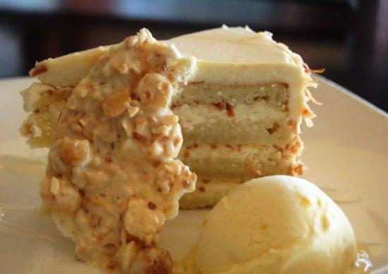 Торт с белым шоколадом рафаэлло