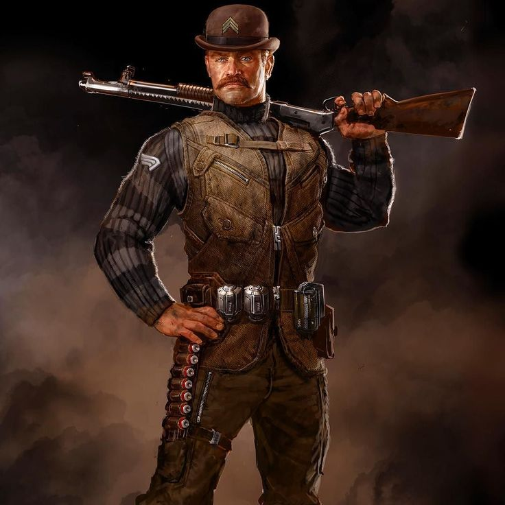 This is the Dum Dum Dugan design from Captain America: The First Avenger…