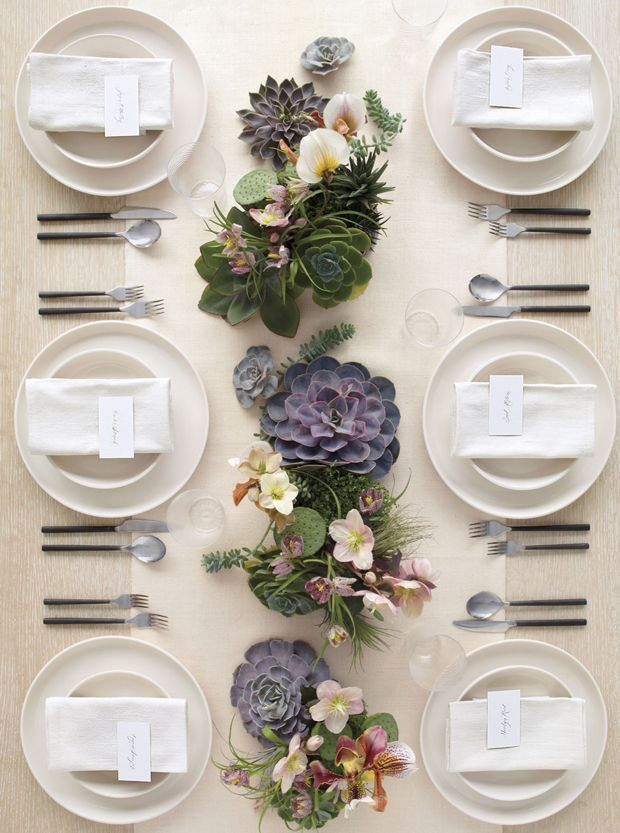 Beautiful table placement