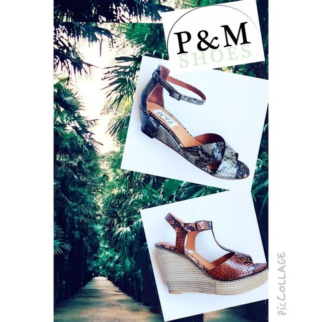 """#lowcostfashionporto #SS15 #sandals  #piton #leather"""