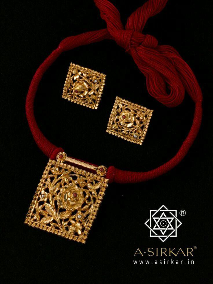 Red thread pendant