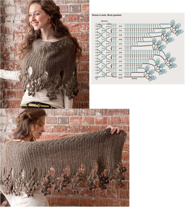 Crochet Poncho or Cape
