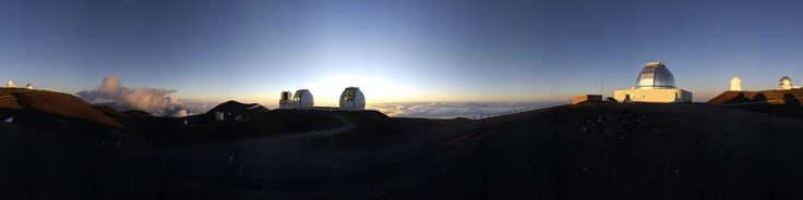 #astronomy #dormant volcano #hawaii #keck #landscape #m #mauna kea #observatory #panorama #research #scenic #science #space #sunrise #telescopes #usa #w