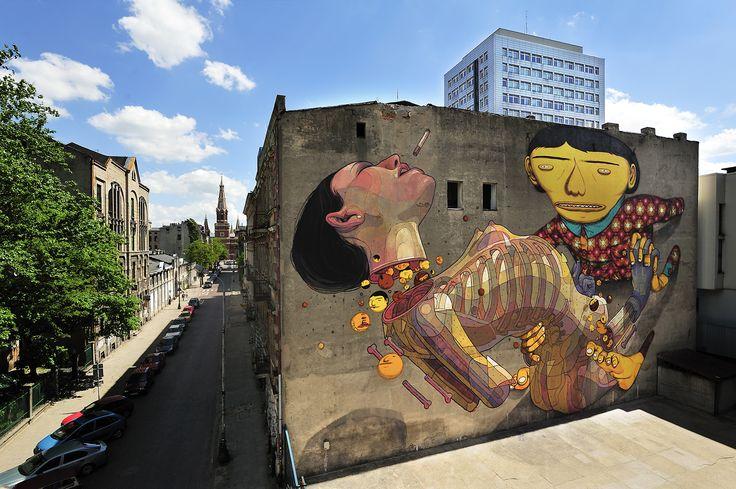 Fundacja Urban Forms #streetart #lodz #urban #forms #urbanforms