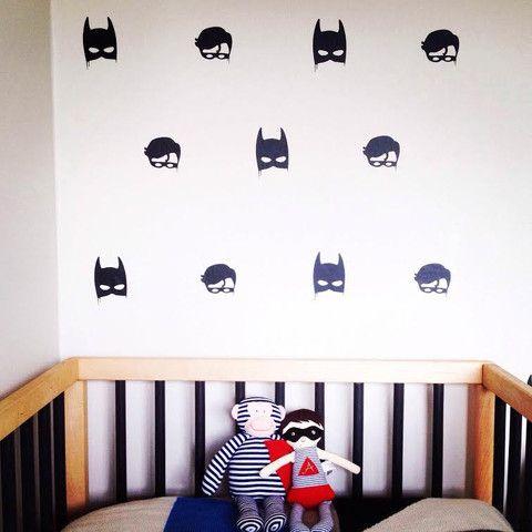 Wall decals - Little Pop Studio Batboys